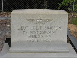 Lieut Joe F. Simpson