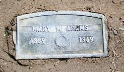 Mary M. <I>Matson</I> Adams