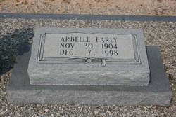 Arbelle <I>Jones</I> Early