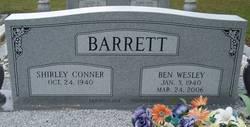 Shirley <I>Conner</I> Barrett