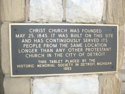 Christ Church of Detroit Columbarium