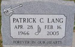 Patrick C. Lang
