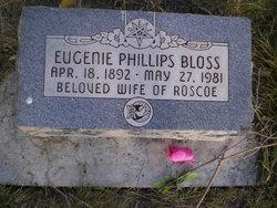 Eugenie Mary Haverfield <I>Phillips</I> Bloss