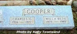 Charles G Cooper