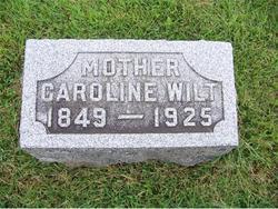 Caroline <I>Buchanan</I> Wilt