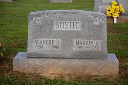Blanche Olive <I>McGlothlin</I> Bostic