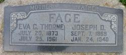 Eva Cordelia <I>Thorne</I> Fage