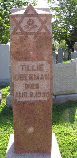 Tillie <I>Dudelczak</I> Oberman