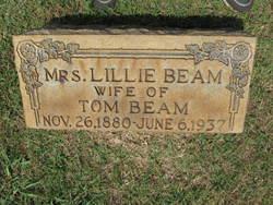 """Lillian """"Lillie"""" <I>Austin</I> Beam"""