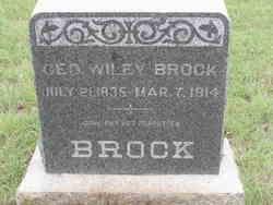 George Wiley Brock