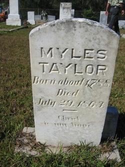 Myles Taylor Jr.