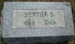 Bertha S Morrill