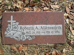 Roberta A Allensworth