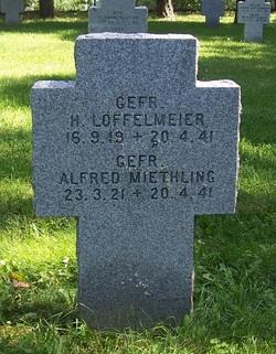 Gefr. Herbert Löffelmeier