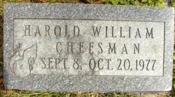 Harold William Cheesman