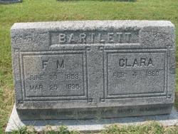 "Susan Clarinda ""Clara"" <I>Pate</I> Bartlett"