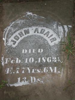 John N Adair