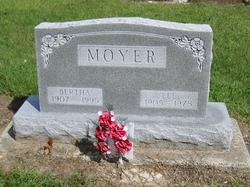 Bertha Josephine <I>Easterday</I> Moyer