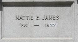 Mattie B James