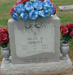 Arlen Roosevelt Abbott