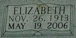 """Elizabeth """"Lizzie"""" <I>Coffey</I> Barrier"""