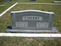 Minnie Pauline <I>Cherry</I> Cherry