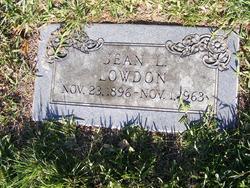 Jean <I>Logan</I> Lowdon