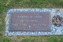 Robert D Amen