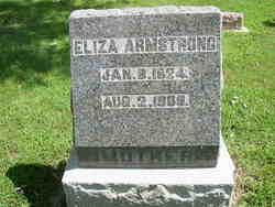 Eliza <I>Jones</I> Armstrong