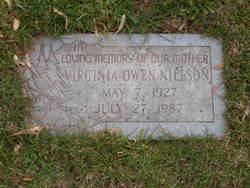 Virginia <I>Owen</I> Nielson