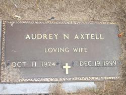 Audrey N Axtell
