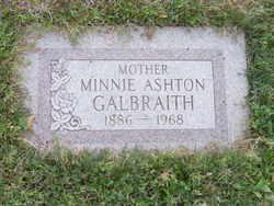 Minnie Amelia <I>Ashton</I> Galbraith