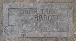 Donna Marie Abbott