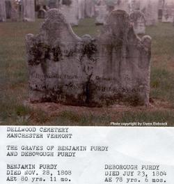 Deborah (Deboraugh) <I>Smith</I> Purdy