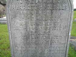 Harriott Pinckney <I>Rutledge</I> Holbrook
