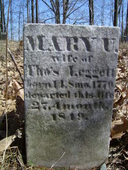 Mary <I>Underhill</I> Leggett