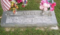 Anna Pearl <I>Reeves</I> Agee