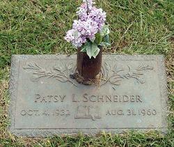 Patsy Lou <I>Cordell</I> Schneider