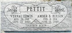 Amber B. <I>Hixson</I> Pettit