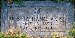 Dorothy Doshia <I>Hamm</I> Akins