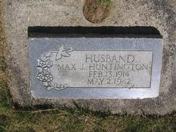 Max J Huntington