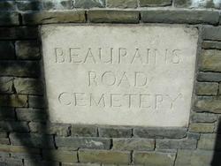 Beaurains Road British Cemetery, Beaurains