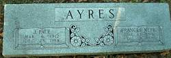 Frances <I>Webb</I> Ayres