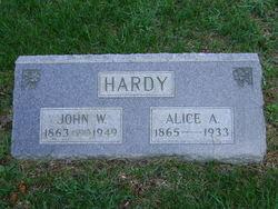 Alice Ann <I>Cannister</I> Hardy