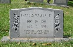 Frances <I>Walker</I> Fly