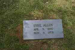 Sybil <I>Davidson</I> Allen