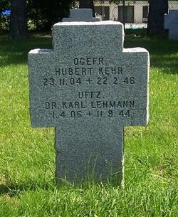 Dr Uffz. Karl Lehmann