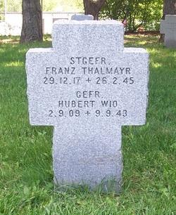 Gefr. Hubert Wio