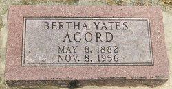 Mary Bertha <I>Yates</I> Acord