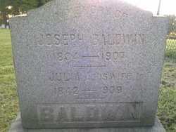 Julia A. <I>Conway</I> Baldwin